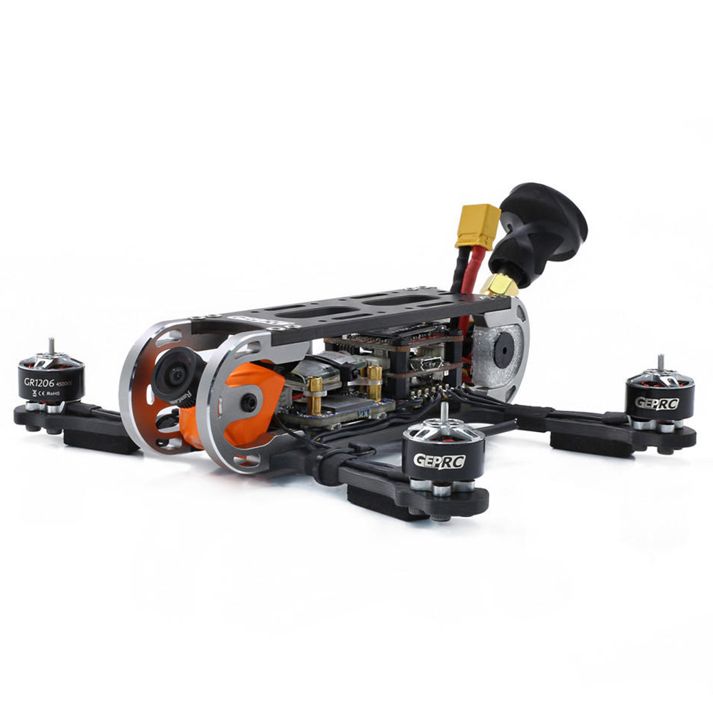 Geprc GEP-CX Cygnet 145mm FPV Racing Drone Stable F4 48CH RunCam Split Mini 2 1080P HD Camera Frsky R9 MM Receiver BNF