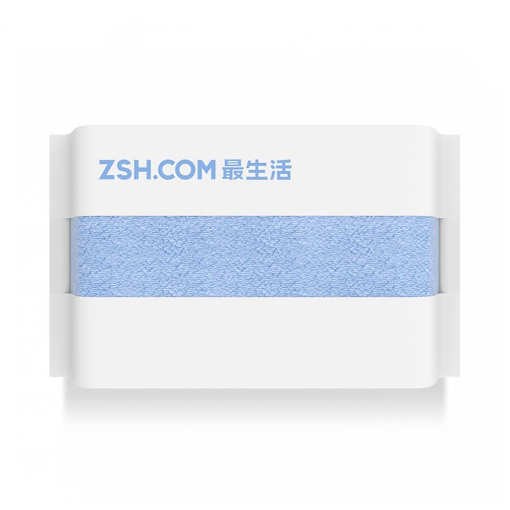 Полотенце Xiaomi ZSH Мощное поглощение Антибактериальная длинноволокнистая хлопчатобумажная запечатанная упаковка Youth Series - синий