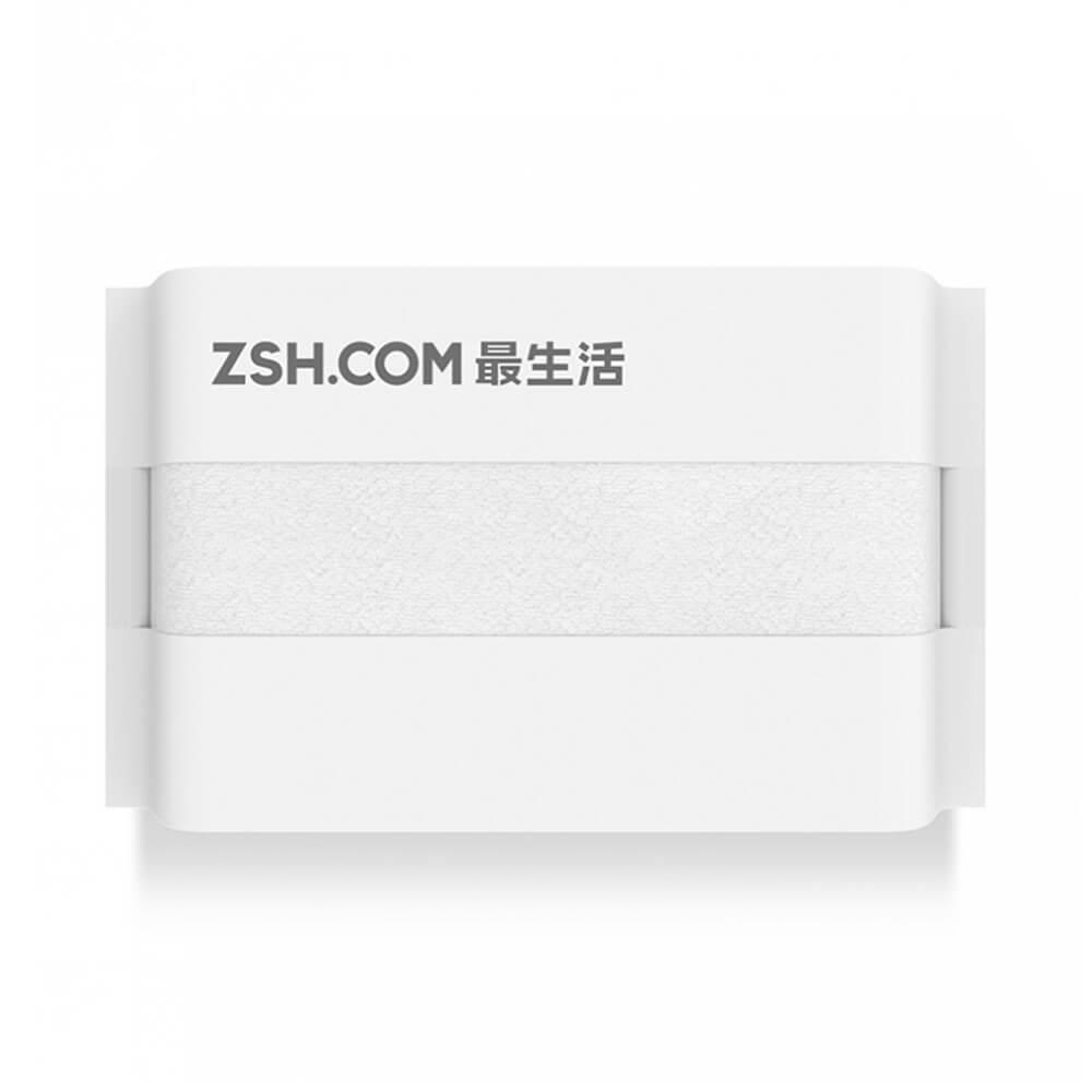 Xiaomi ZSH Serviette Absorption Puissante Antibactérien Coton à Long Agrafe Emballage Scellé Série Jeunesse - Blanc