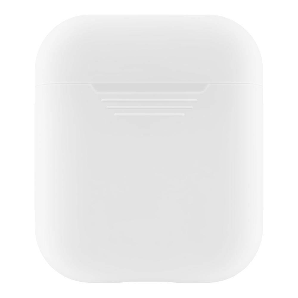 Θήκη από σιλικόνη για Apple AirPods i10 i12 i18 i12S iWNUMXS TWS Earbuds - Λευκό