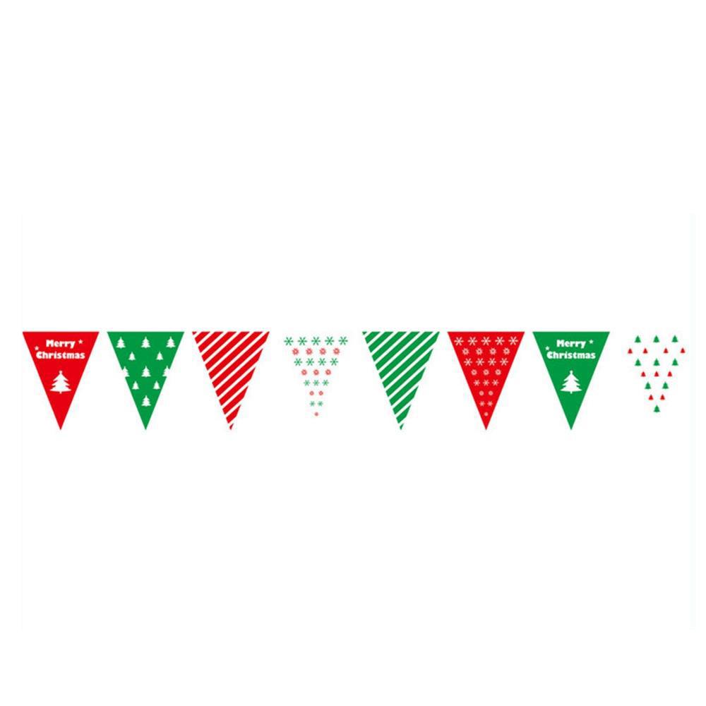 Bandiere di stringa Bandiere appese per decorazioni natalizie - Tipo A