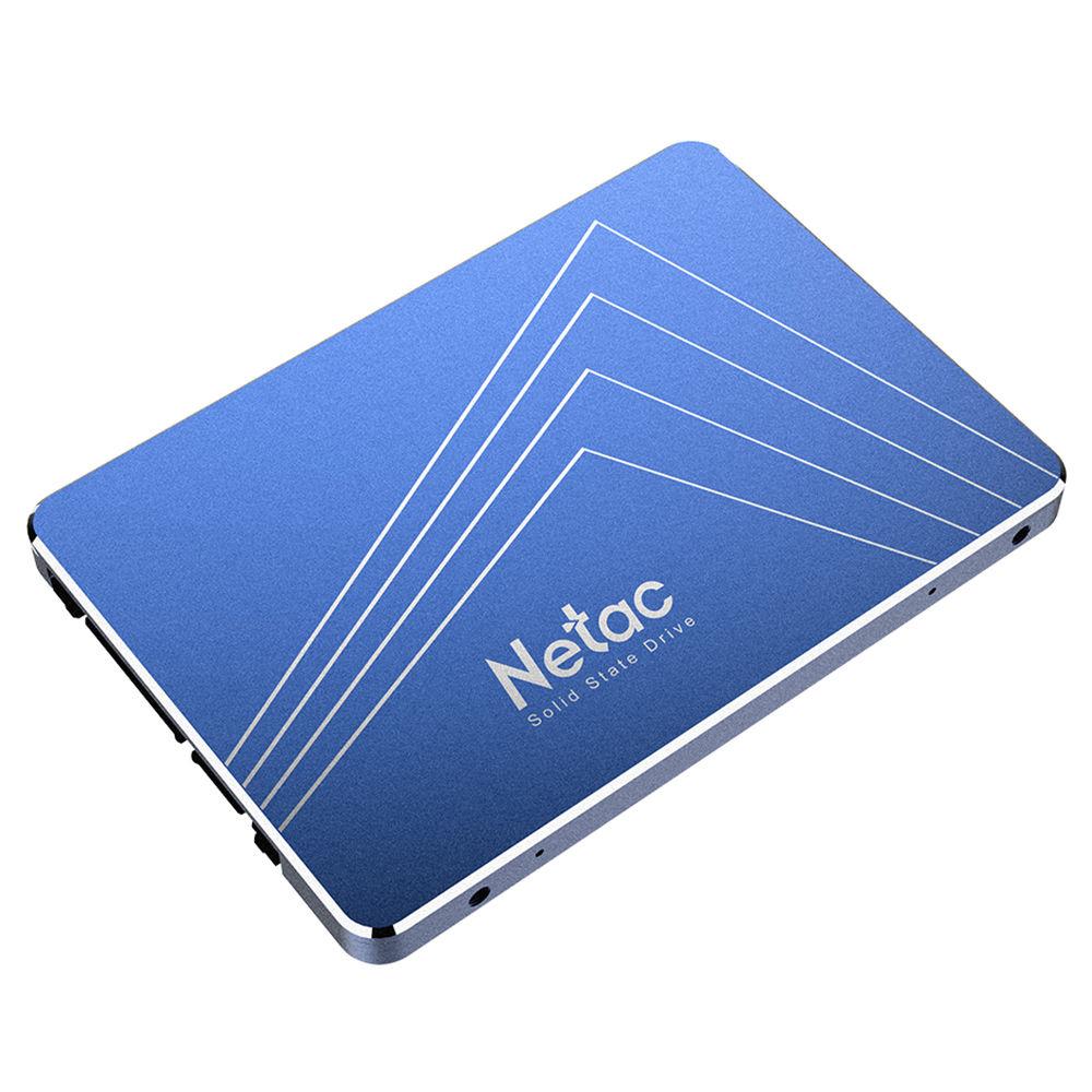 Netac N600S 1TB Μονάδα στερεάς κατάστασης SSD 2.5 Inch SATA3 Διεπαφή Ταχύτητα ανάγνωσης 500MB / s - Μπλε