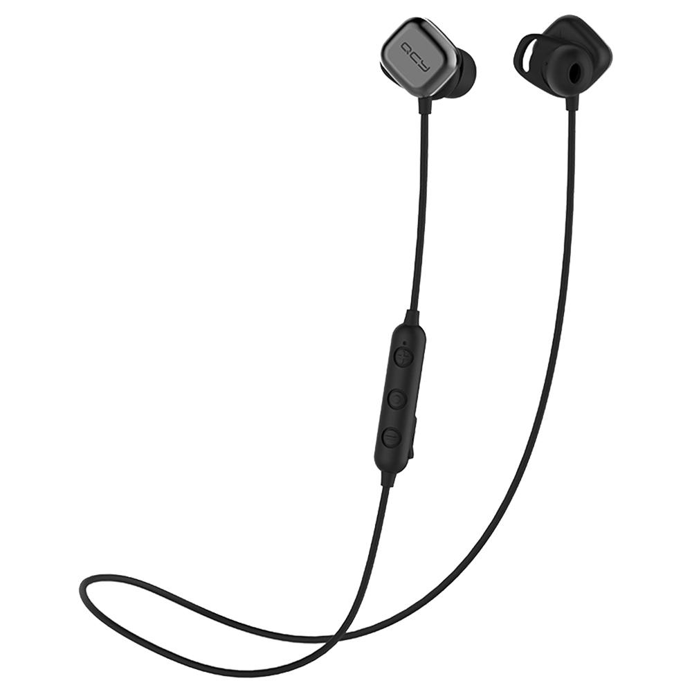 Auricolari magnetici QCY M1 Pro AptX HiFi Bluetooth senza fili IPX4 Resistente all'acqua - Nero