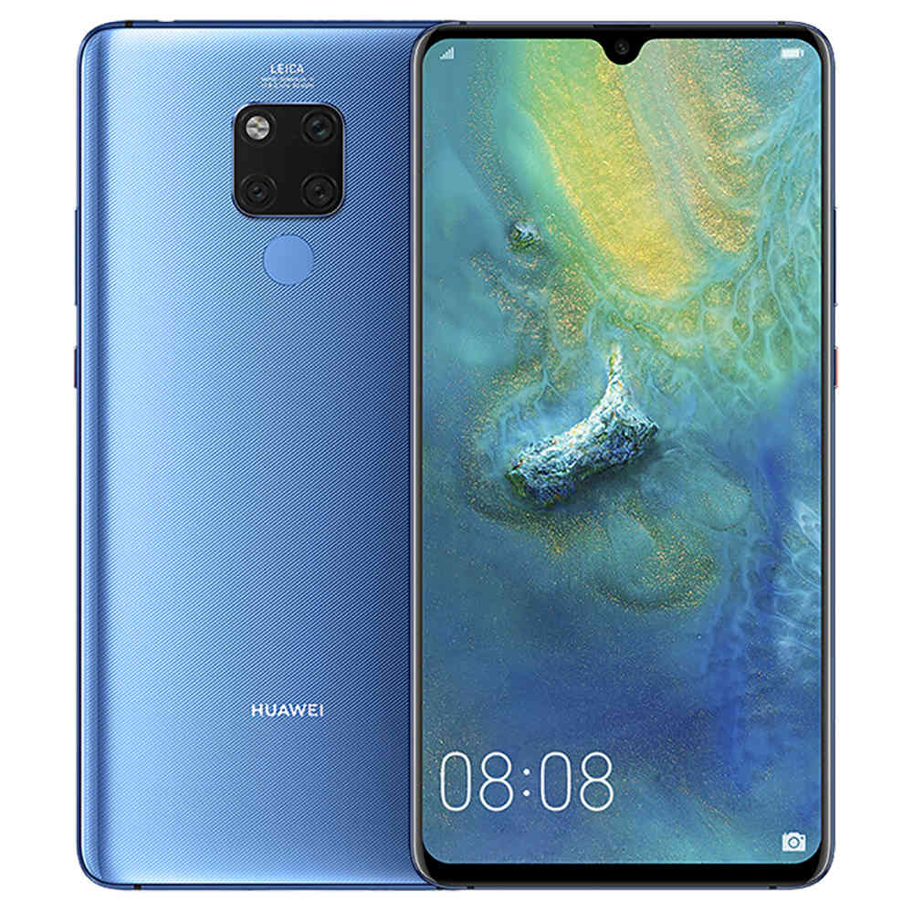 HUAWEI Mate 20 X CN Version 7.2 Pouces 4G LTE Smartphone Kirin 980 6GB 128GB 40.0MP + 20.0MP + 8.0MP Caméras arrière triples Android 9.0 NFC IR Touch Touch Control ID - Midnight Blue
