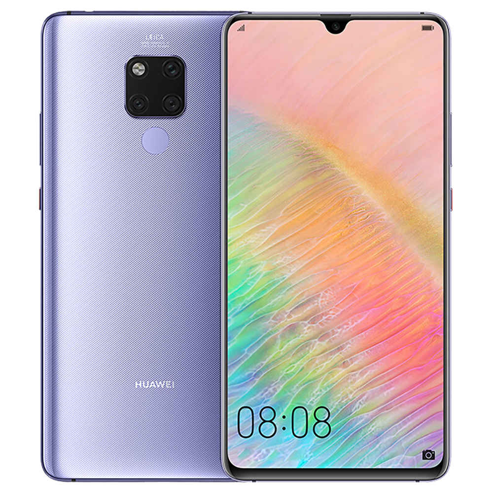 HUAWEI Mate 20 X CN Version 7.2 Inch 4G LTE Smartphone Kirin 980 8GB 256GB 40.0MP+20.0MP+8.0MP Triple Rear Cameras Android 9.0 NFC IR Remote Control Touch ID - Phantom Silver