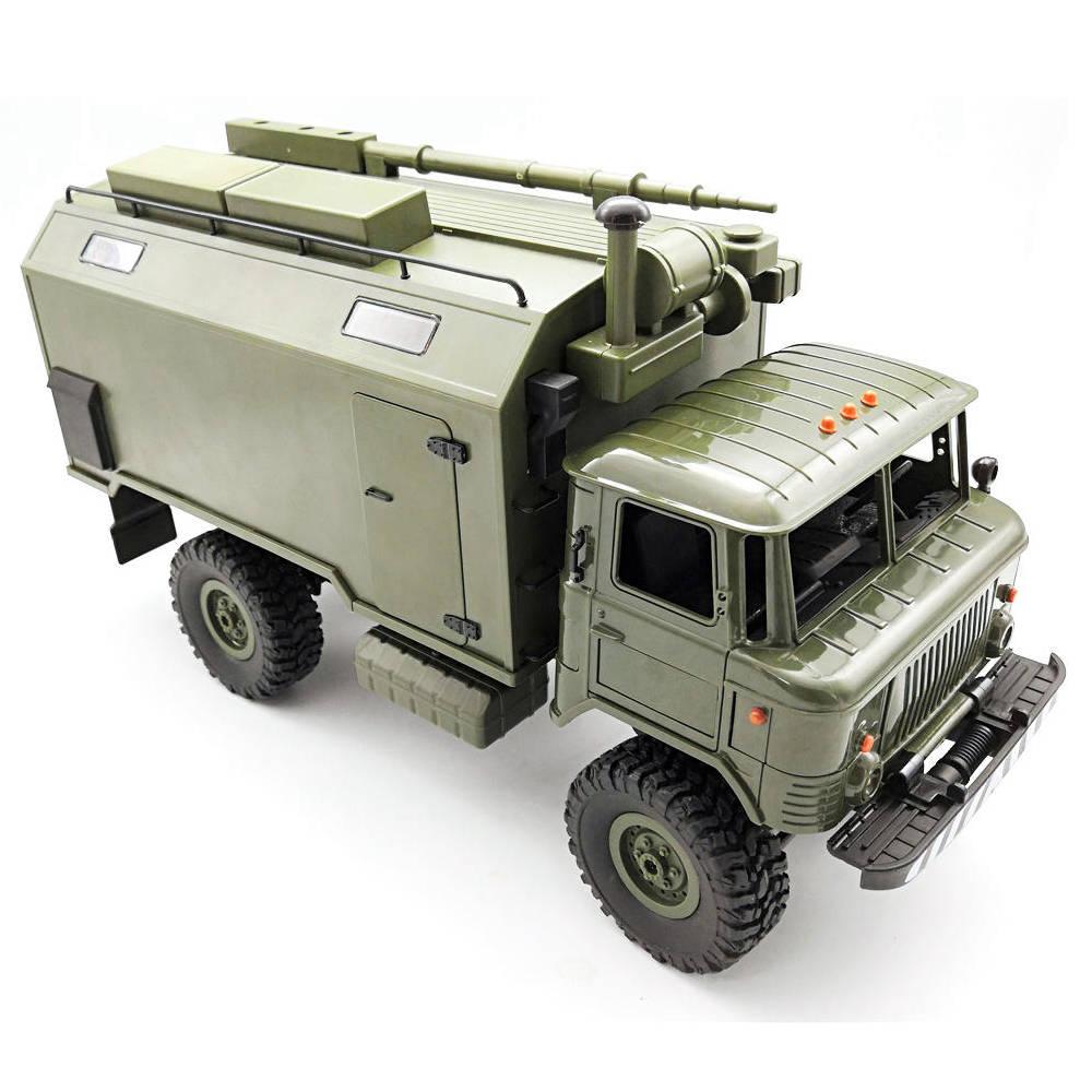 WPL B24 ZH GASS 66 2.4G 1:16 4WD Military Truck RC Car Rock Crawler RTR - Army Green