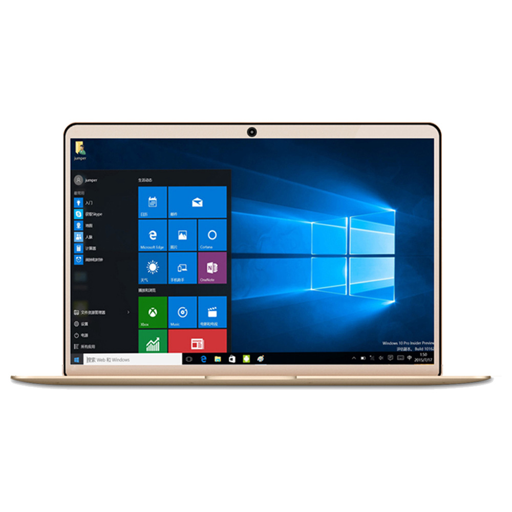 YEPO 737A Laptop Intel Apollo Lake J3455 Quad Core 13.3 IPS 1920 1080 6GB 256GB RAM 10GB SSD Windows XNUMX - Gold