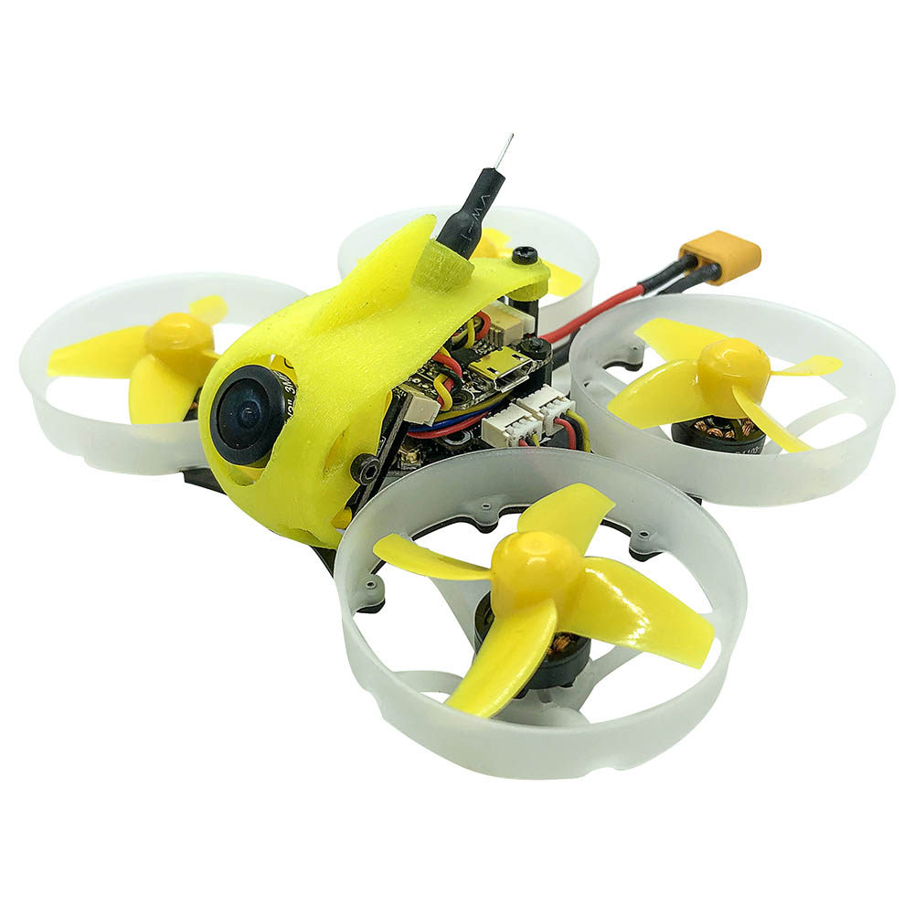 FullSpeed TinyLeader Brushless Whoop 75mm FPV Racing Drone F4 FC OSD 4In1 ESC Caddx Micro F2 Camera BNF - Frsky Receiver