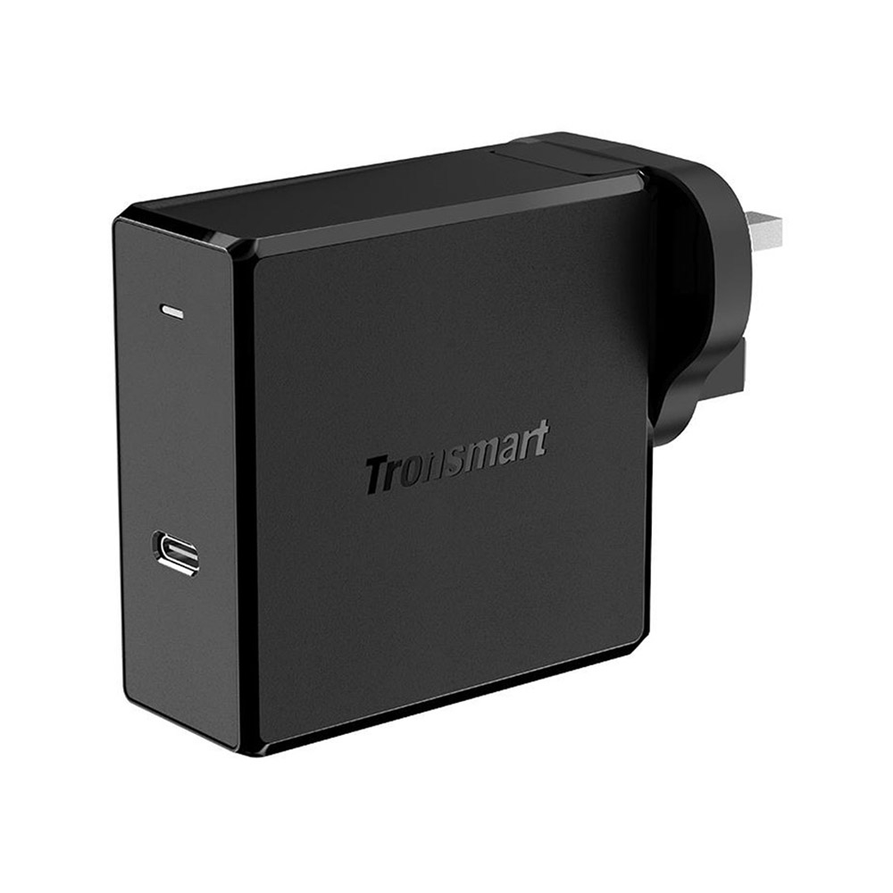 Tronsmart WCP02 60W Caricatore da muro USB-C con alimentazione Consegna 3.0 per MacBook Air iPad Pro 2018 iPhone XS Max XR - Spina UK