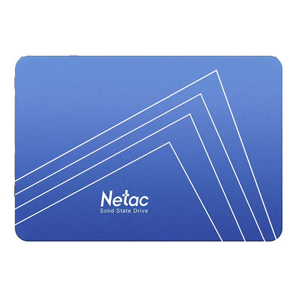 Velocidad de lectura de la unidad de estado sólido de Netac N500S 120GB SATA3 SSD 2.5 en pulgadas 500MB / s - Azul