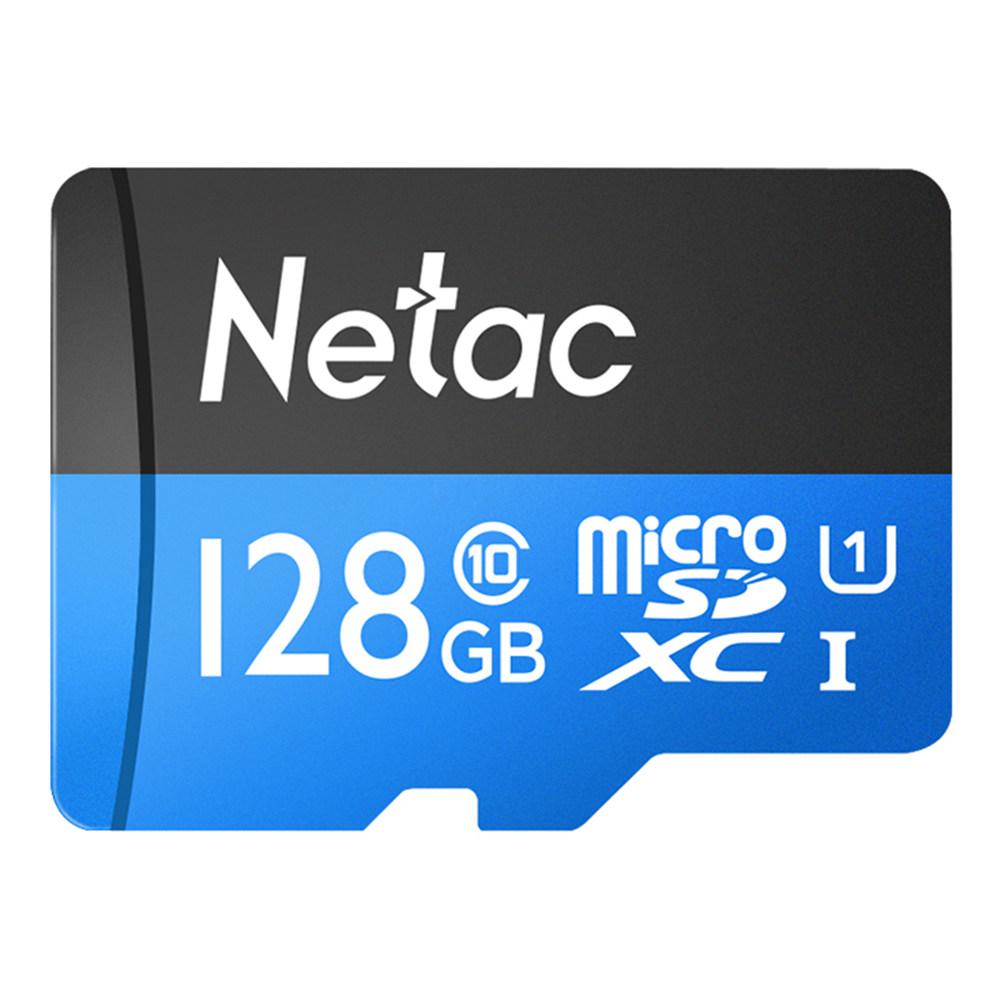 Netac P500 128GB Micro SDTF Card Blue