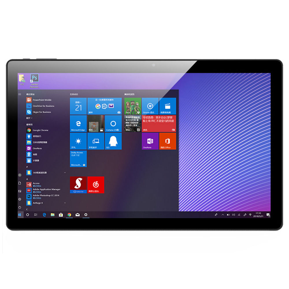 AllDOCUBE KNote 5 2 ב 1 Tablet PC אינטל Gemini אגם N4000 ליבה כפולה 11.6 & quot; מסך IPS 1920 * 1080 4GB זיכרון 128GB SSD Windows 10 - שחור + אפור