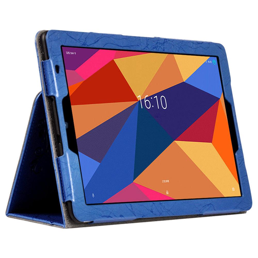 キッキンアームバンド機能付き保護皮革ケースChuwi Hi9 Plus 10.8 Inch 4G Phablet -Blue