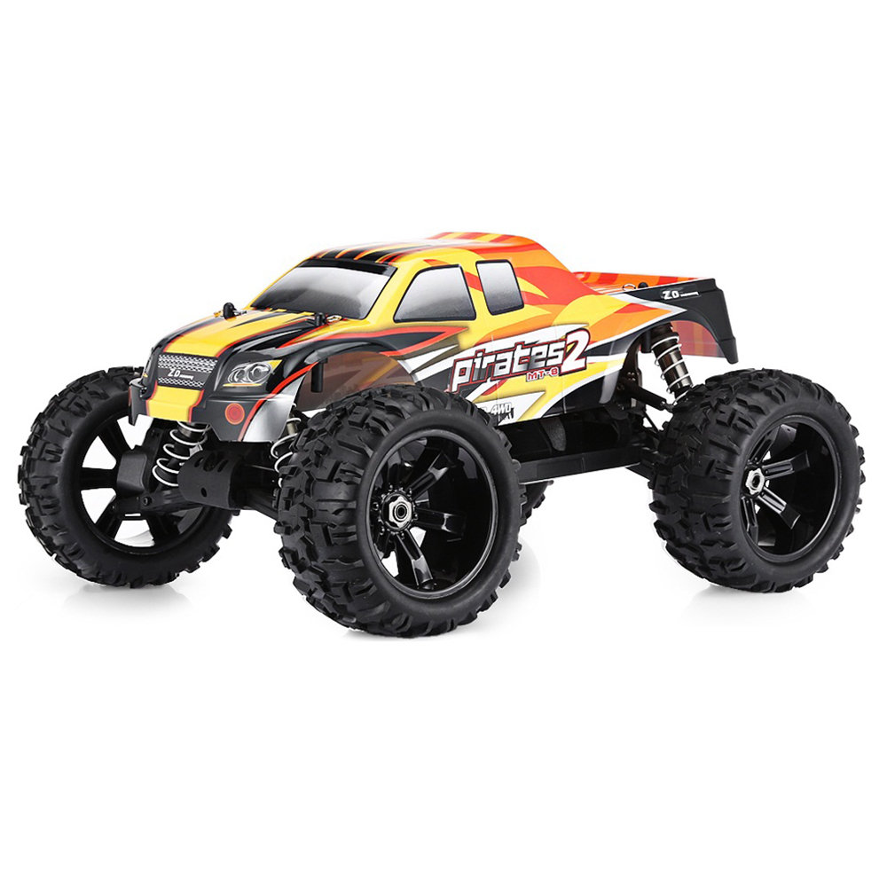 ZD Racing 9116 2.4G 1:8 4WD 120A ESC Brushless Monster Truck Off-road RC Car RTR - Two Batteries