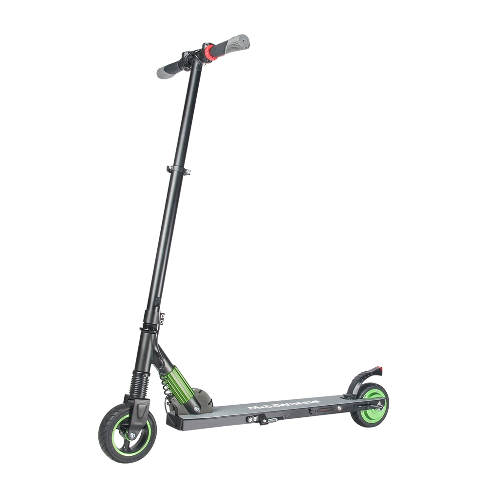 Megawheels S1-1 Folding Electric Scooter 250W Motor 23km/h E-ABS Technology Micro-Electronic Braking System US Plug - Green