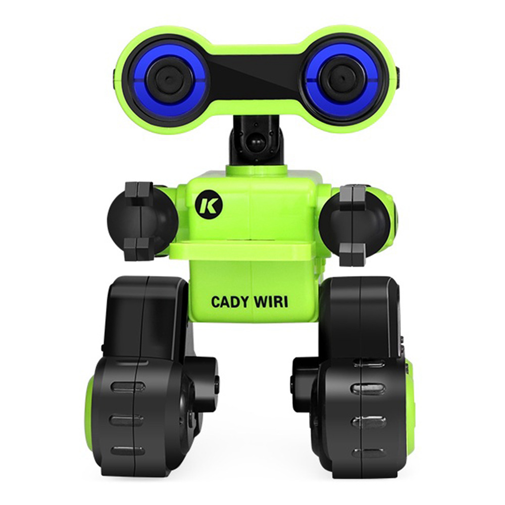 JJRC R13 CADY WIRI Touch Control Programmable Dancing RC Robot Colorful Lights Kids Toys - Green