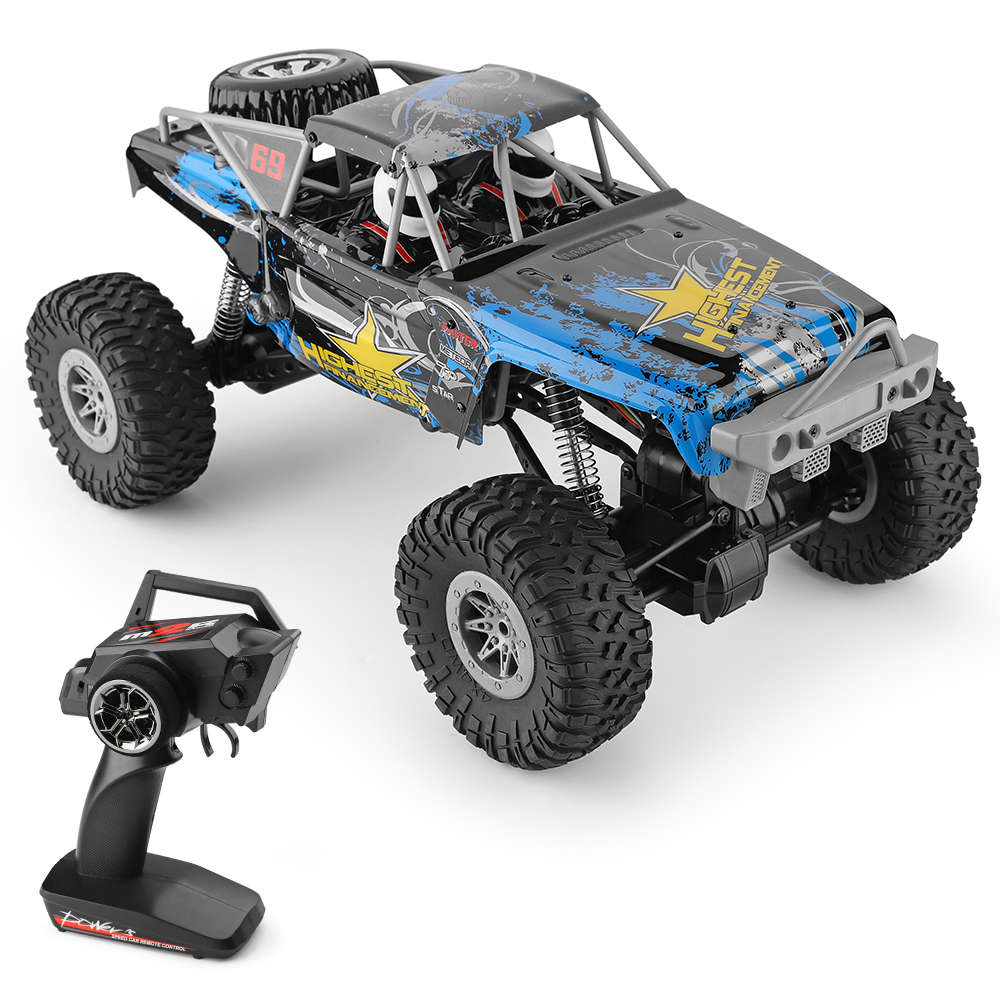 Wltoys 104310 2.4G 1:10 4WD Brushed Off-road RC Climbing Car Monster Truck - RTR