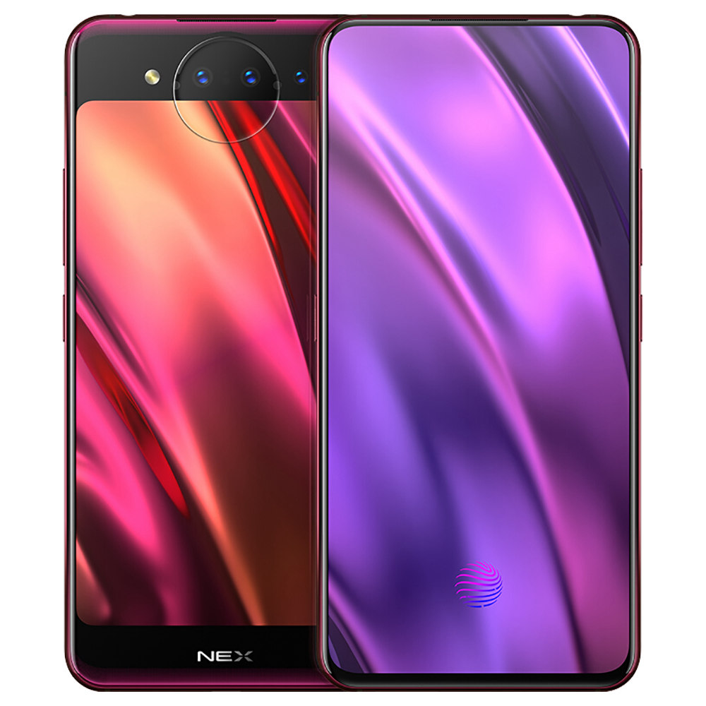 Vivo Nex Dual Display Edition 6.39 Inch 4G Smartphone Snapdragon LTE 845 10GB 128GB 12.0MP + 2.0MP + TOF 3D Telecamere posteriori triple Funtouch OS 4.5 Fingerprint in-Display tipo-C - Purple