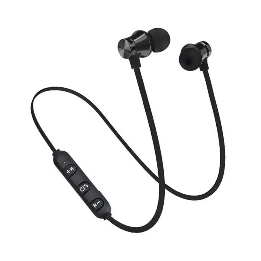 Manyetik Bluetooth Spor Kulaklık - Siyah