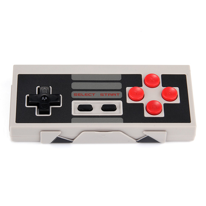 8BITDO NES30 Bluetooth Wireless GamePad Game Controller for iOS Android/PC/Nintendo Switch - Grey + Black + Red