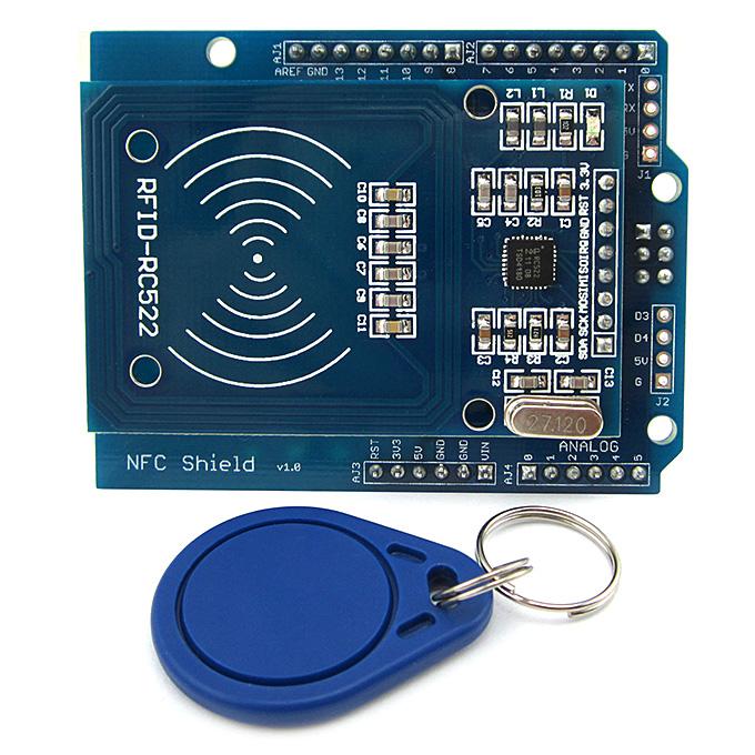 NFC-Schild RFID-RC522 HF-IC-Karten-Sensormodul für Arduino UNO / Mega2560