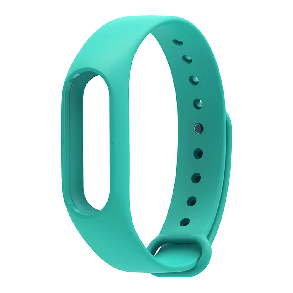 Xiaomi Mi Band 2 Replaceable Silicone Wrist Strap - Deep Green Other