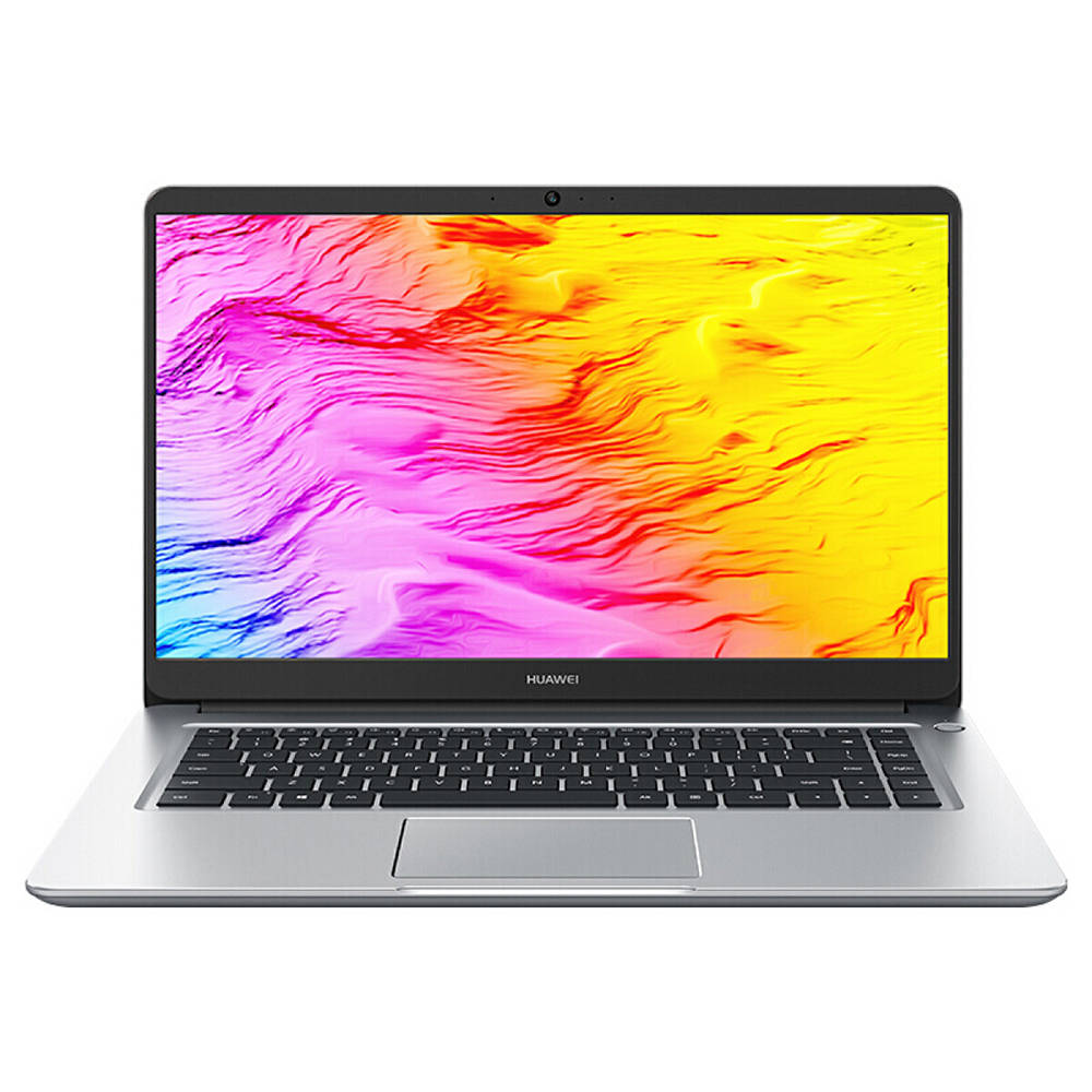 """هواوي MateBook D الكمبيوتر المحمول Intel Core i7-8550U Quad Core GeForce MX150 2GB DDR5 15.6 """"1920 * 1080 Windows 10 16GB RAM 256GB SSD - Silver"""