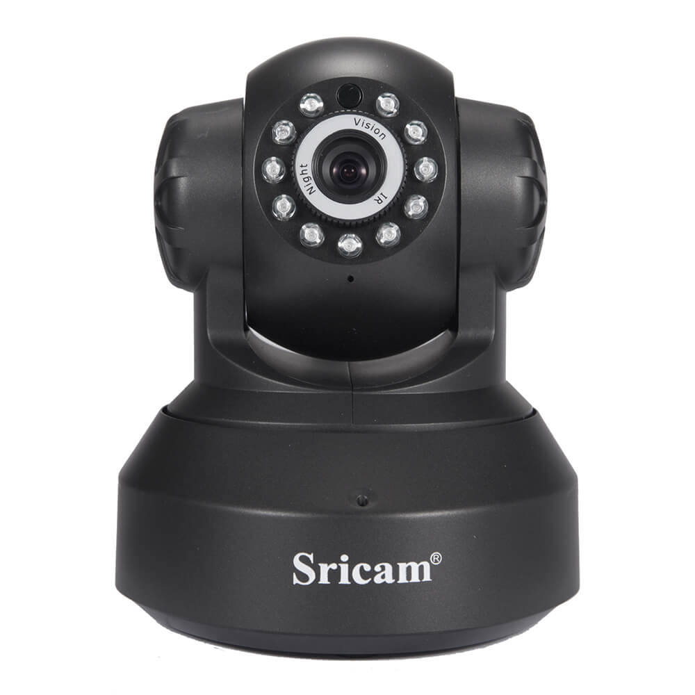 Sricam SP005 WiFi ONVIF 720P IP Camera Two-way Audio Infrared Night Vision - Black фото