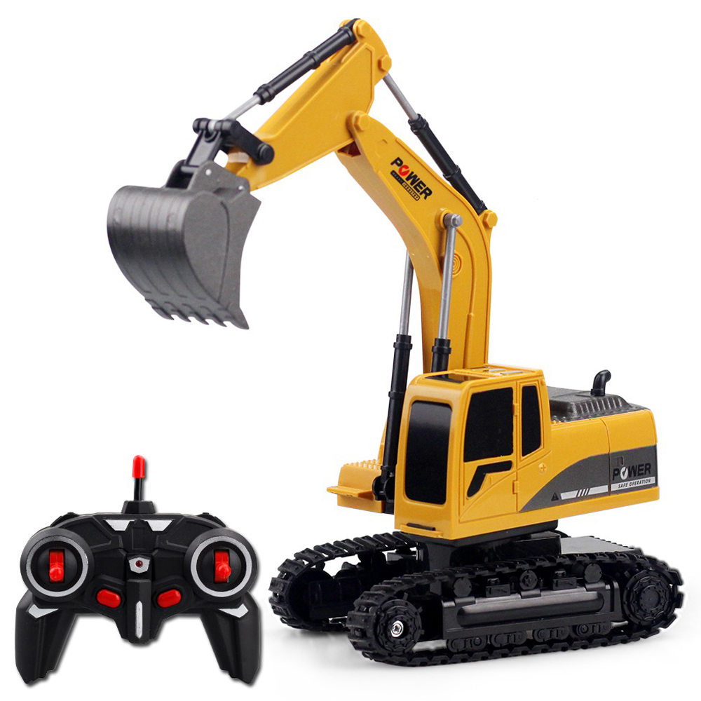 258-1 1: 24 6CH Metal Excavator Construction Vehicle RC Car RTR