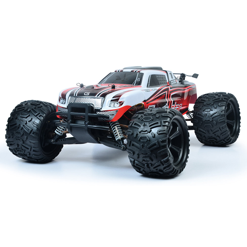 HG HG-104 2.4G 1:10 4WD Full-scale High-speed Off-road Monster Truck RC Car RTR