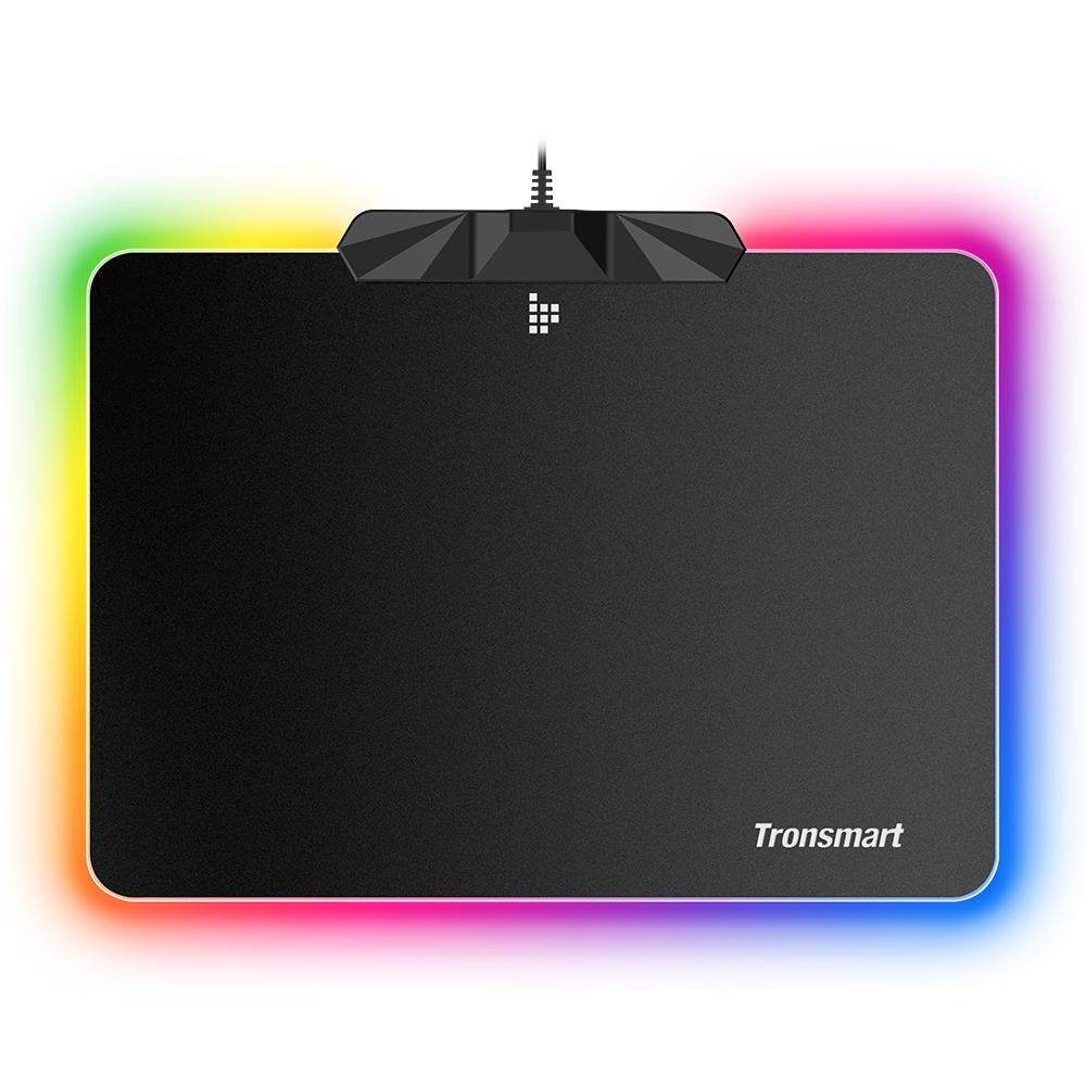 Tronsmart Shine X RGB Gaming egérpad USB matrac 16.8 Million színekkel csúszásmentes alap, optimális játékérzékelőkhöz