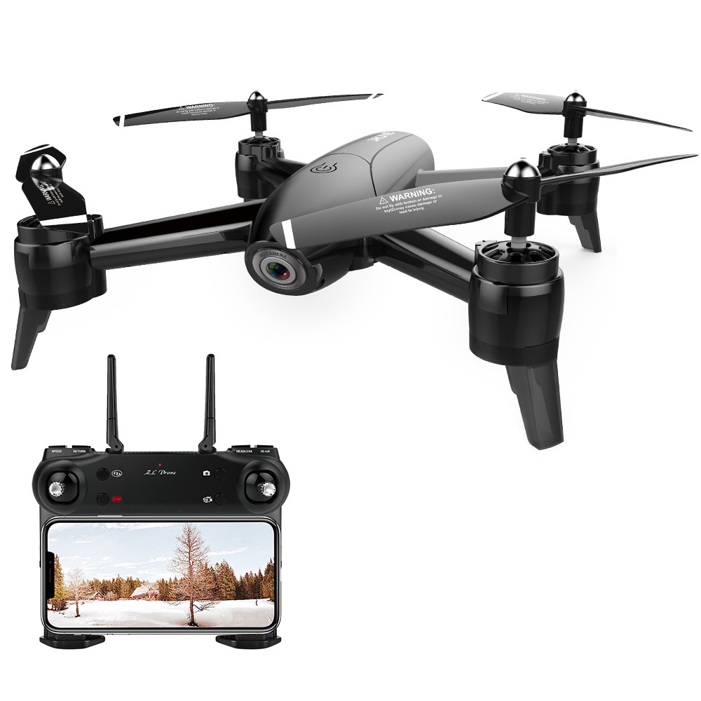 ZLRC SG106 Wifi FPV RC Drone with 1080P HD Camera Positioning RTF - Black