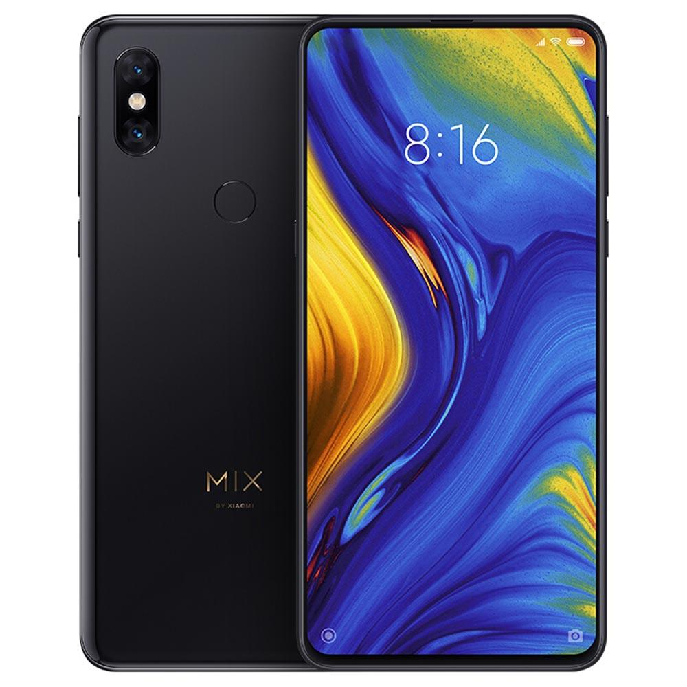 Xiaomi Mi Mix 3 6.39 Inch 4G LTE Smartphone Snapdragon 845 6GB 128GB 12.0MP+12.0MP Dual Rear Cameras MIUI 10 Ceramic Body NFC Wireless Charge Global Version - Black