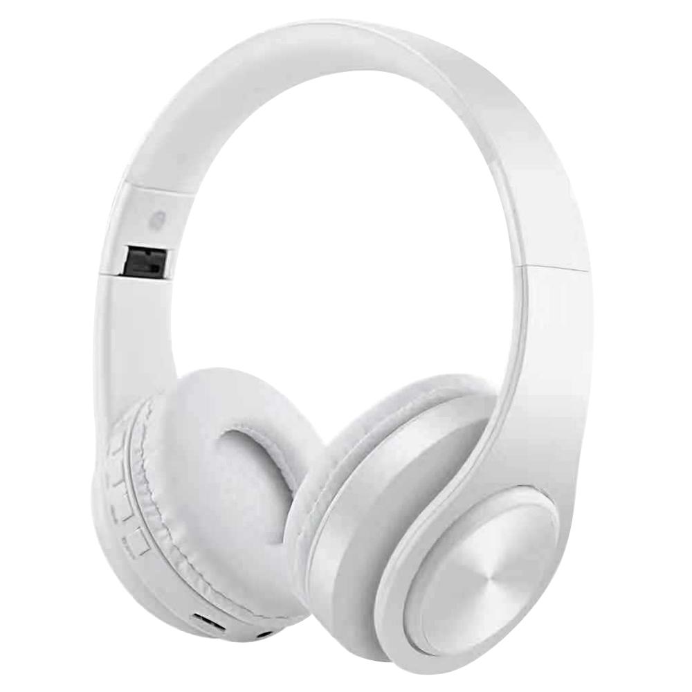 M3 Wireless Foldable Headphones White