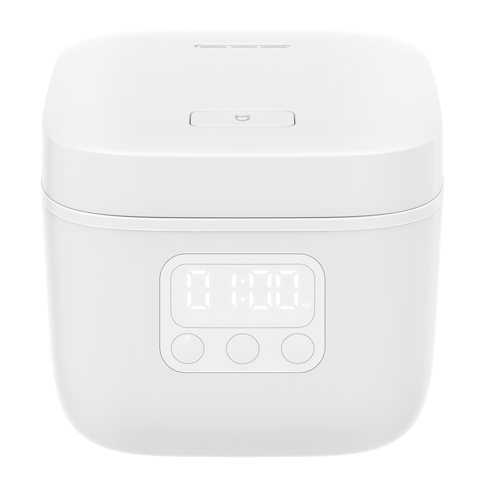 XIAOMI Mijia DFB201CM Small Rice Cooker 1.6L 400W APP Remote Control Non-stick Cooking Pot - White фото