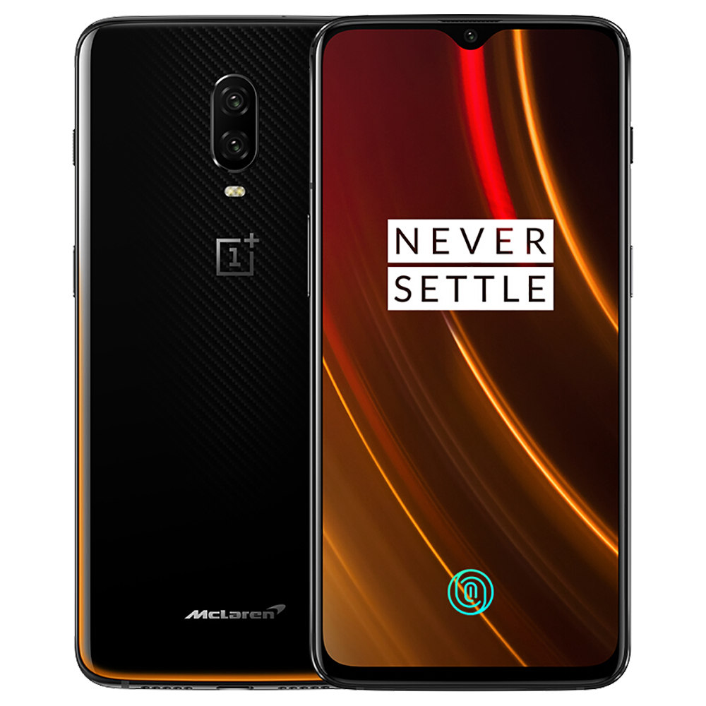 Oneplus 6T McLaren Edition 6.41 Inch 4G LTE Smartphone Snapdragon 845 10GB 256GB 16.0MP+20.0MP Dual Rear Cameras Android 9.0 In-Display Fingerprint NFC Fast Charge Global ROM - Orange