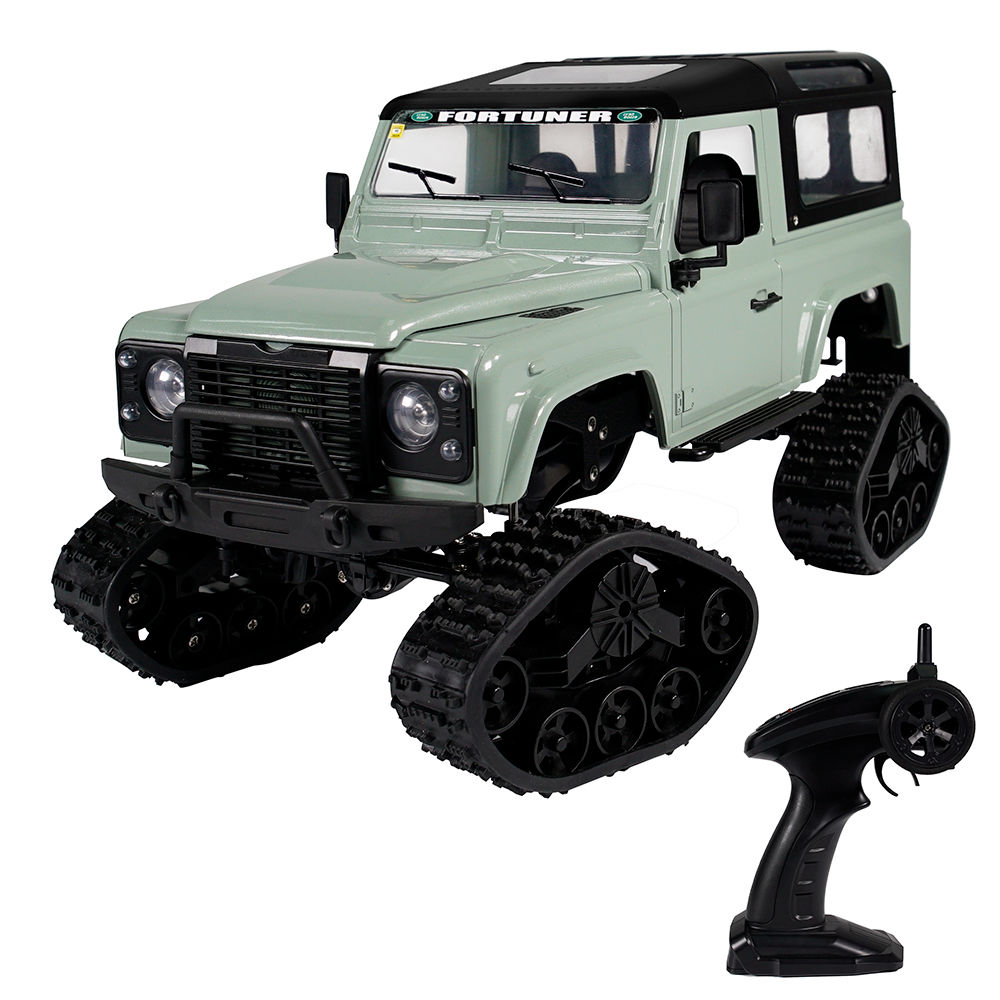 Fayee FY003B 2.4G 1: 16 4WD Montatura in metallo Off-road RC Car RTR Snow Tires - Green