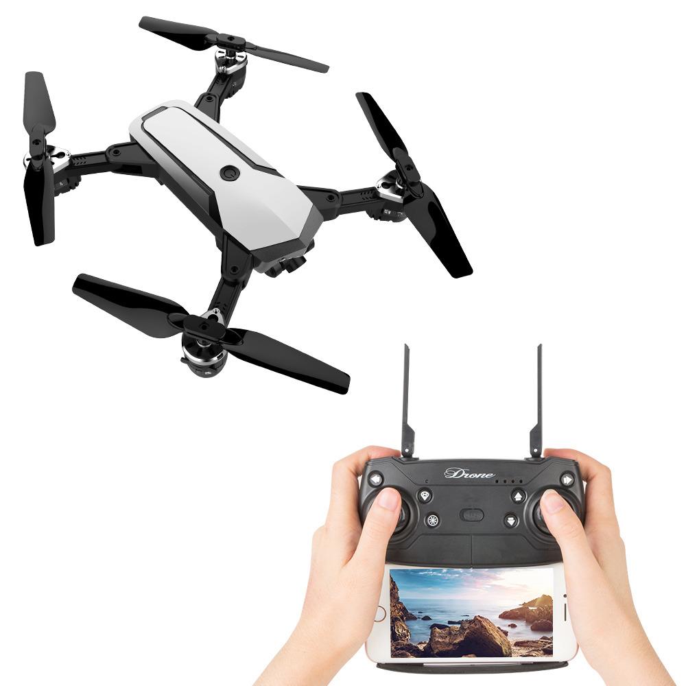 JDR-JD-20S PRO WIFI FPV pieghevole Drone RC con 1080P Videocamera HD grandangolare Tempo di volo 18mins RTF - Bianco