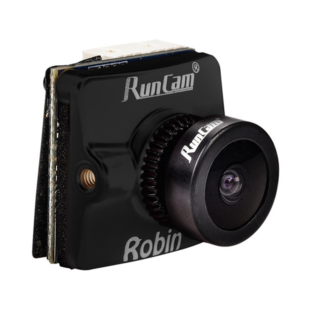 RunCam Robin 1.8mm FOV 160Degree WDR 700TVL 4: 3 CMOS FPV Fotocamera NTSC PAL Switchable - Nero