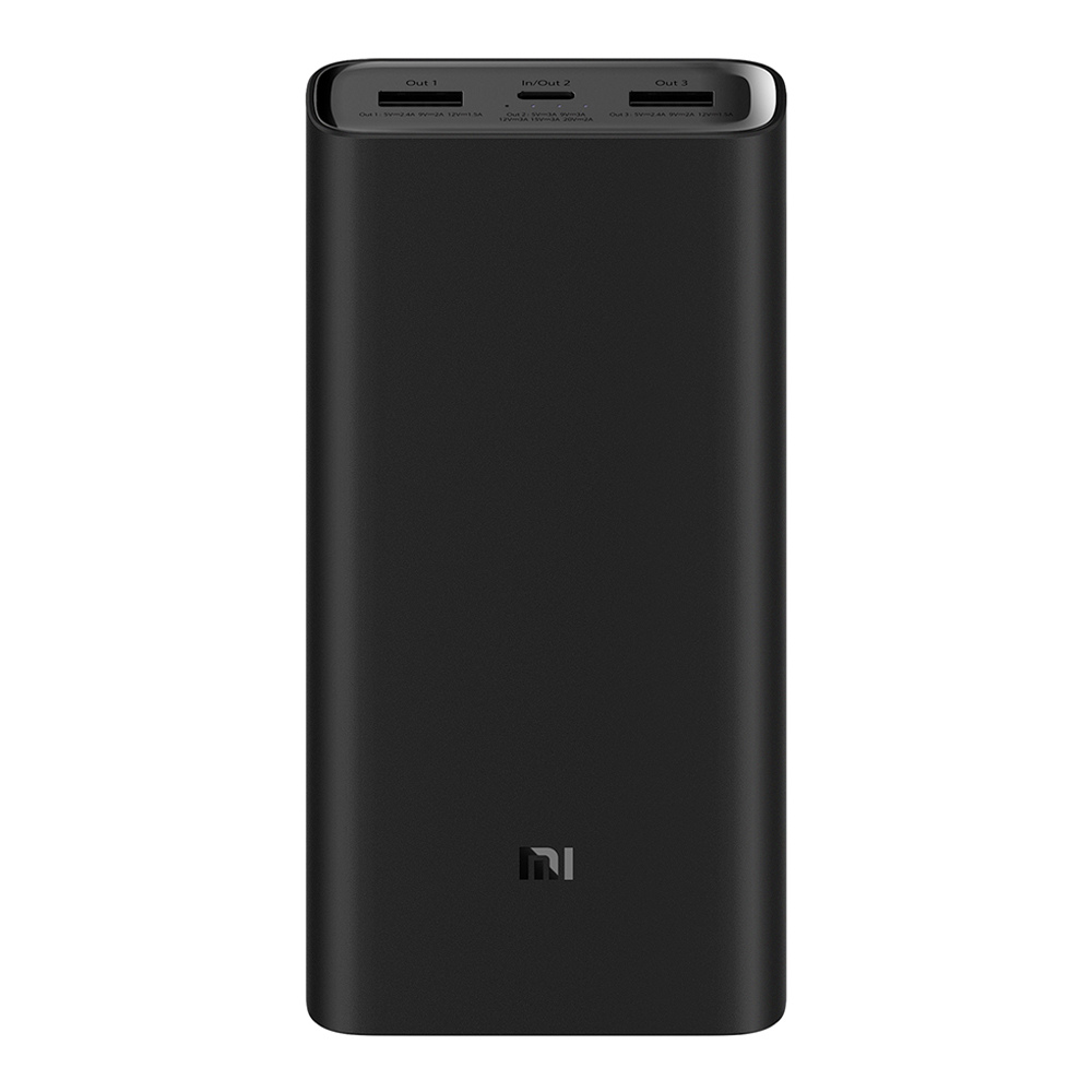 Xiaomi Mi3 20000mAh Power Bank Black