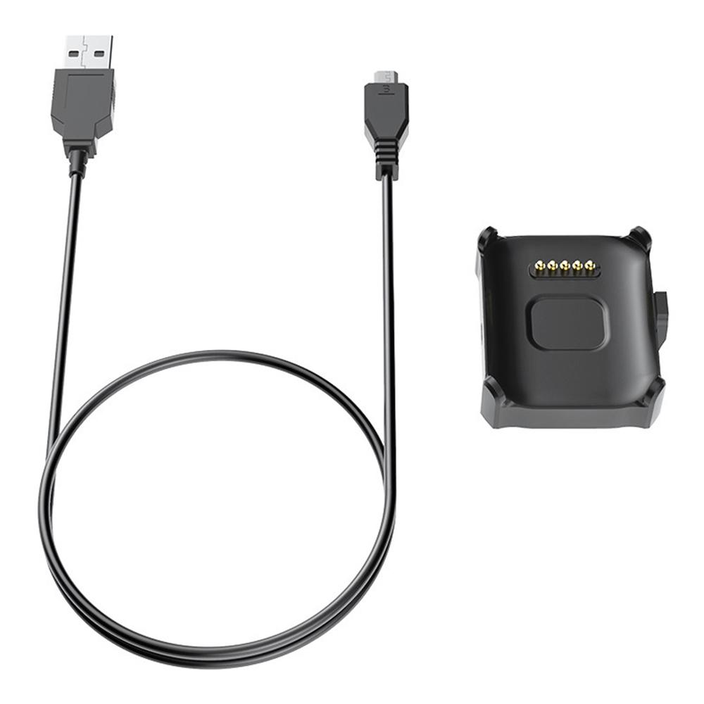 استبدال شاحن بيانات مزامنة USB شحن لماكيبس Br3 سمارت ووتش - أسود