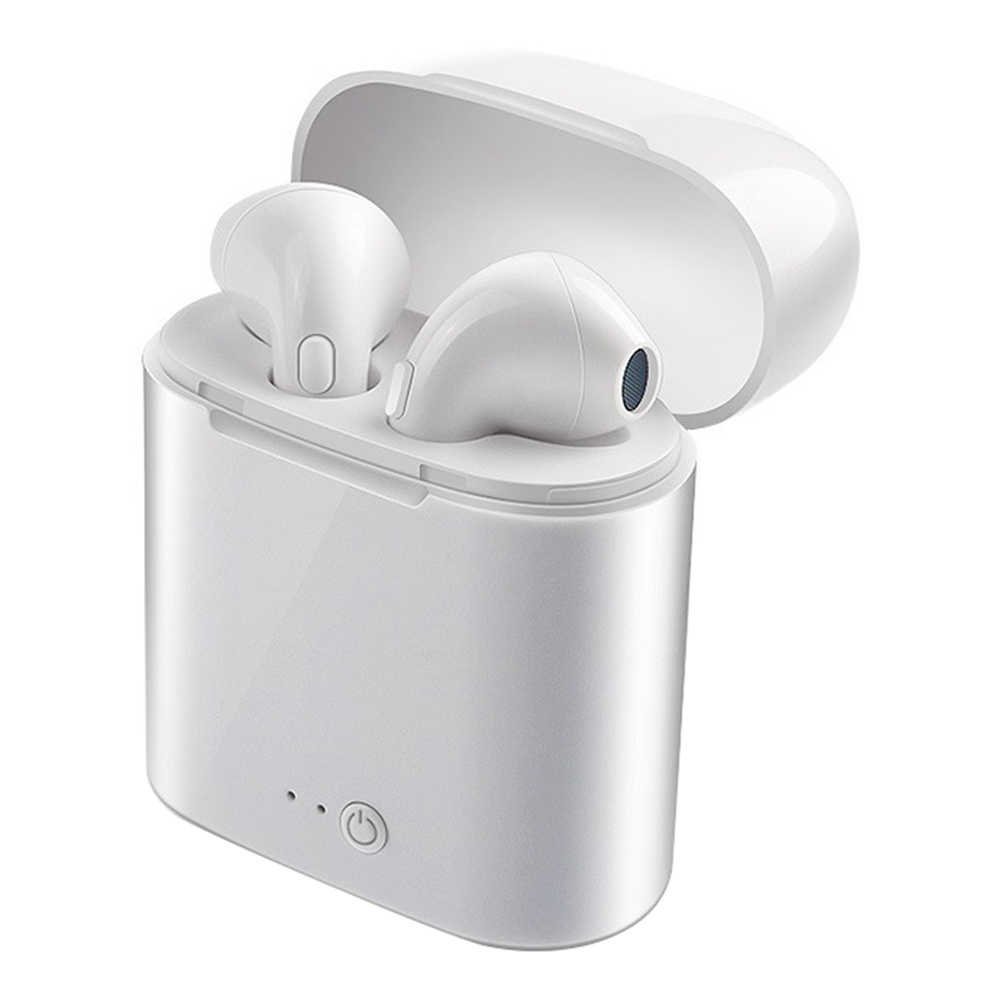 I7S TWS Wireless Bluetooth Earbuds 3 Hours Working Time for Android iOS - White фото