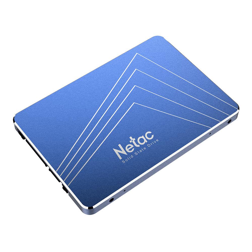 Netac N600S 512GB SSD 2.5 Inch Halfgeleider-schijf SATA3 Interface leessnelheid 500MB / s - Blauw