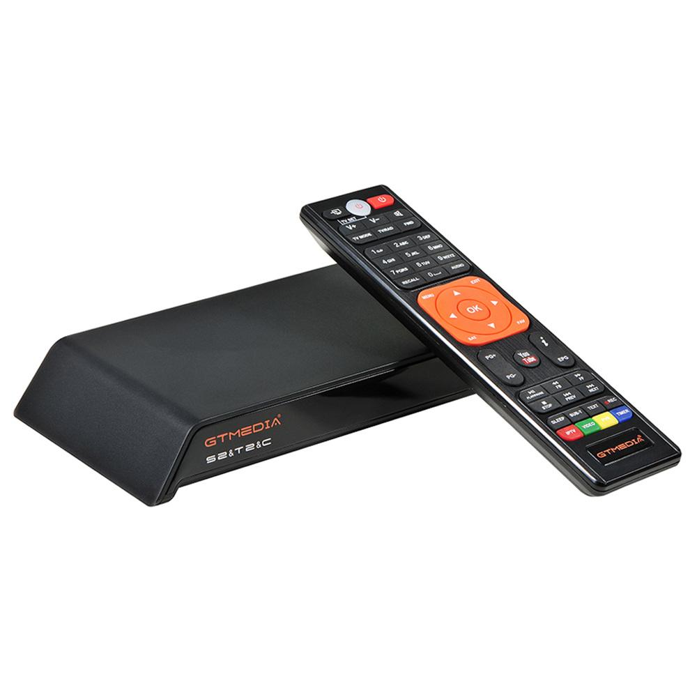 GTMEDIA V8 PRO2 DVB-S2 / T2 / C / ISDBT Full HD 1080P กล่องทีวี WiFi LAN รองรับ IPTV Cccam