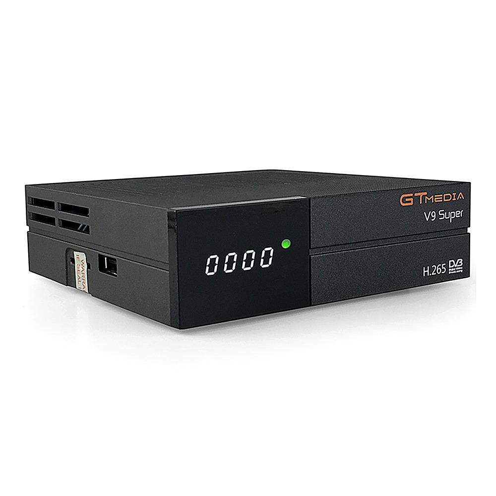 GTMEDIA V9 Super DVB-S2 TV doboz LED kijelzővel H.265 WiFi HDMI támogatás IPTV CCCAM