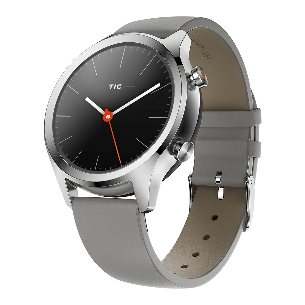 TicWatch C2 Smartwatch Wear OS by Google Platinum