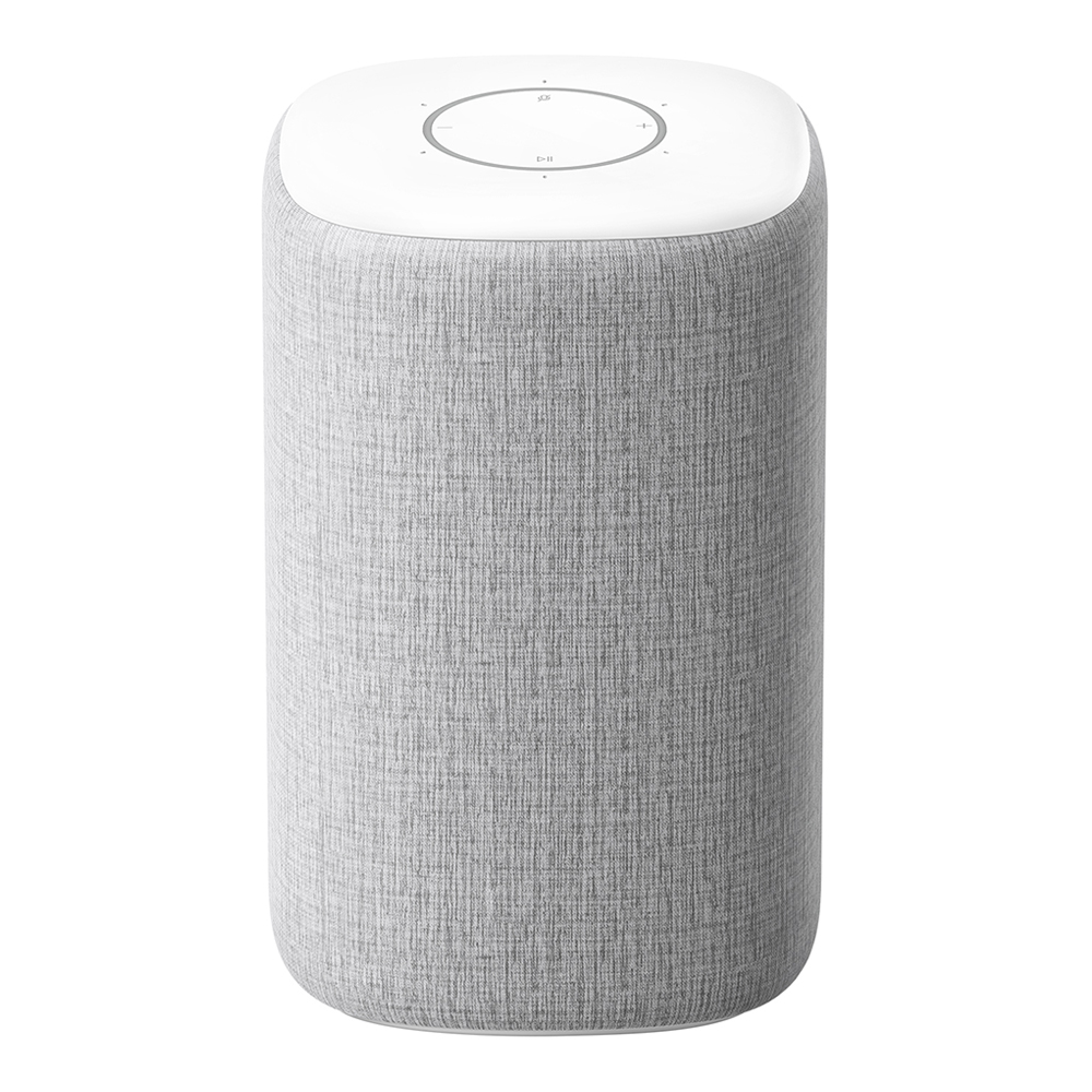 Xiaomi HD AI Wireless Bluetooth WiFi Speaker 360 Degree Surround Sound- Light Gray фото