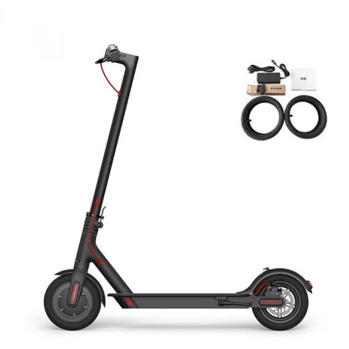 EU Version Original Xiaomi M365 Folding Electric Scooter E-ABS Technology Kinetic Energy Recovery System - Black