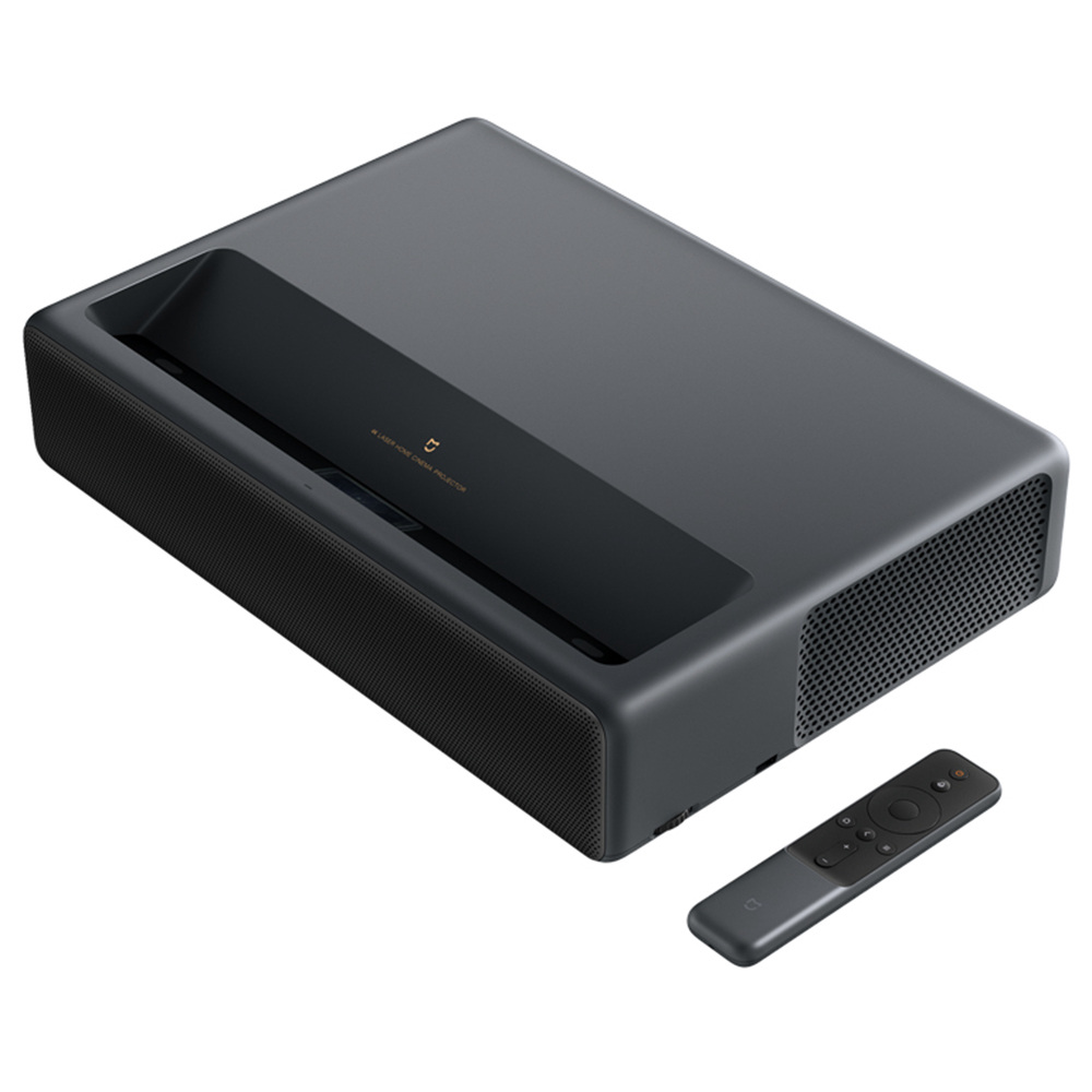 "Xiaomi Mijia 4K UHD Laser Projector 5000LM 3000:1 Contrast Ratio 150"" Image 0.233:1 Throw Ratio ALPD 3.0 MIUI TV - Black"