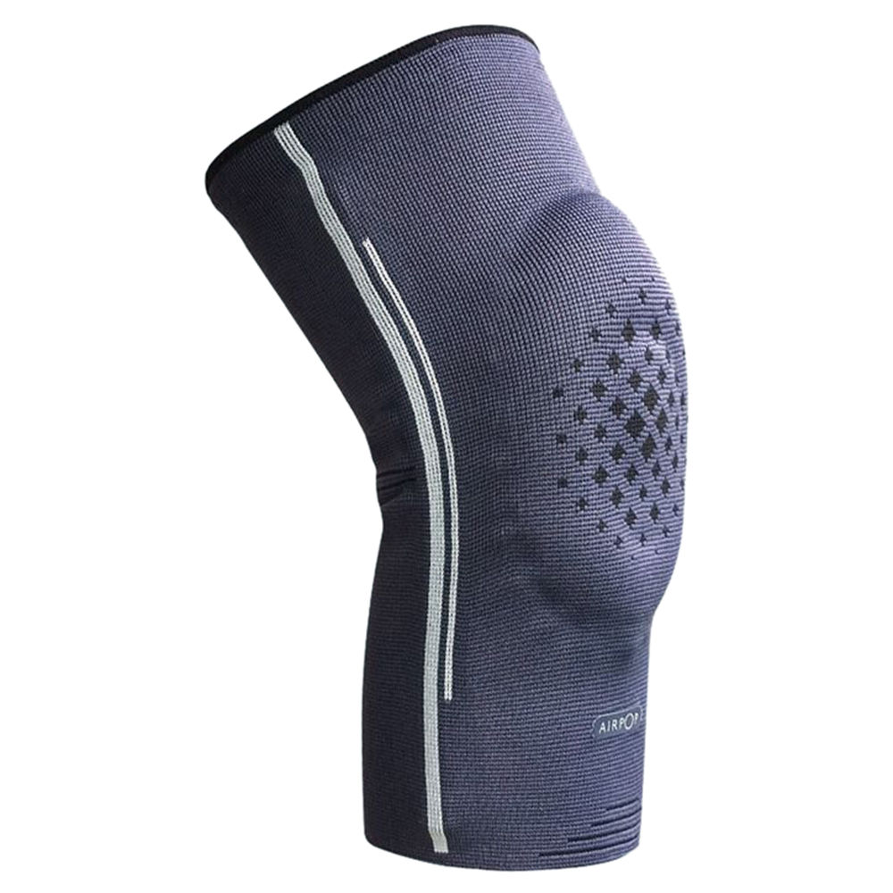 Xiaomi AirPOP Sport Knee Pads High Elastic Breathable Fitness Protective Gear 1 Piece Size L - Gray